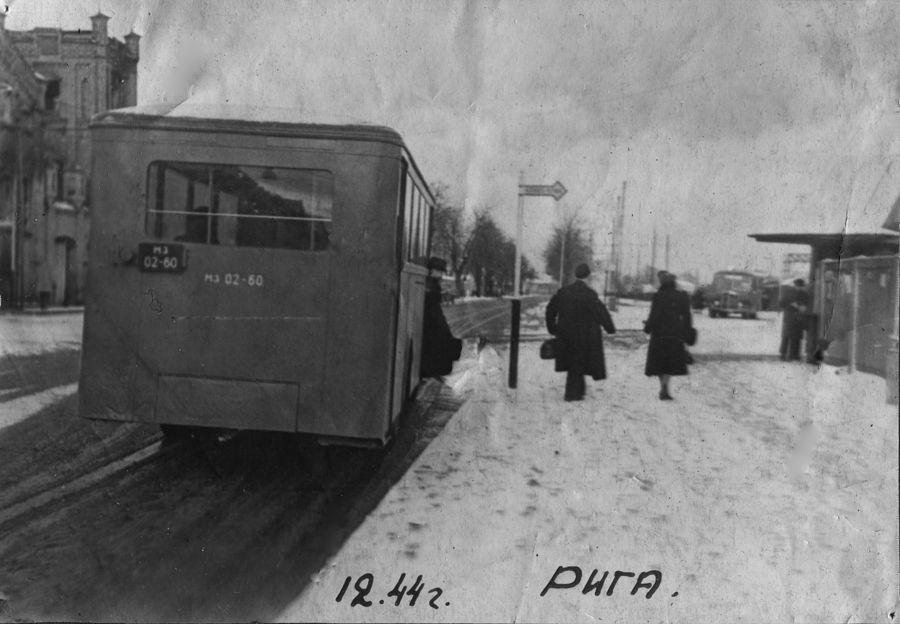 ©Коновалов Александр Васильевич. «Освобождённая Рига. 1944. Бумага, черно-белая фотопечать. 20 х 30 см»