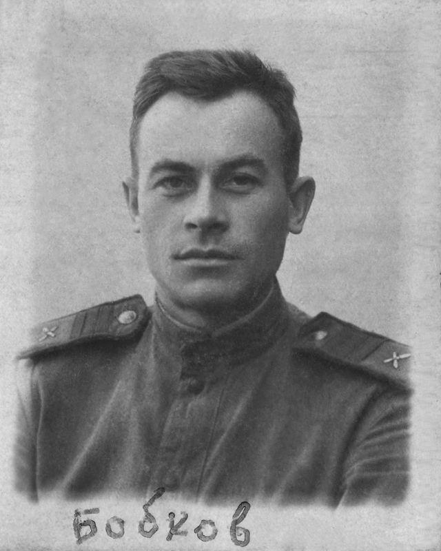 ©Коновалов Александр Васильевич. «Сержант Бобков. 1941–45. Бумага, черно-белая фотопечать. 30 х 20 см»