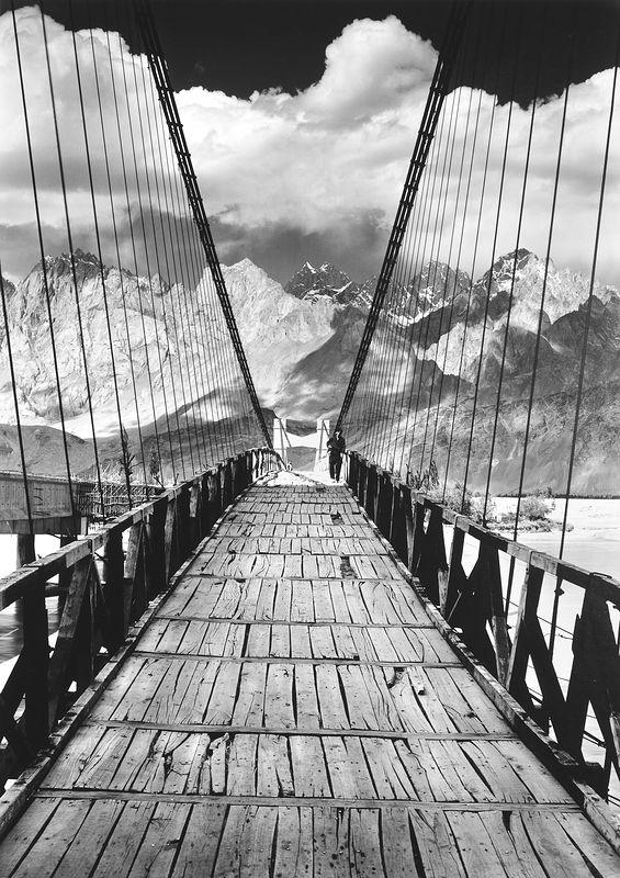 ©Антон Иванов. «Мост через реку Шайок»
