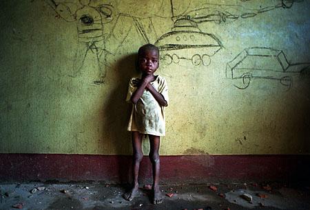 Дитя войны, Ангола