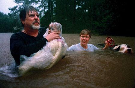 Наводнение в штате Техас, США