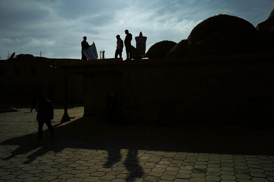 ©Анзор Бухарский. «III-торговый купол Токи Заргарон в Бухаре»