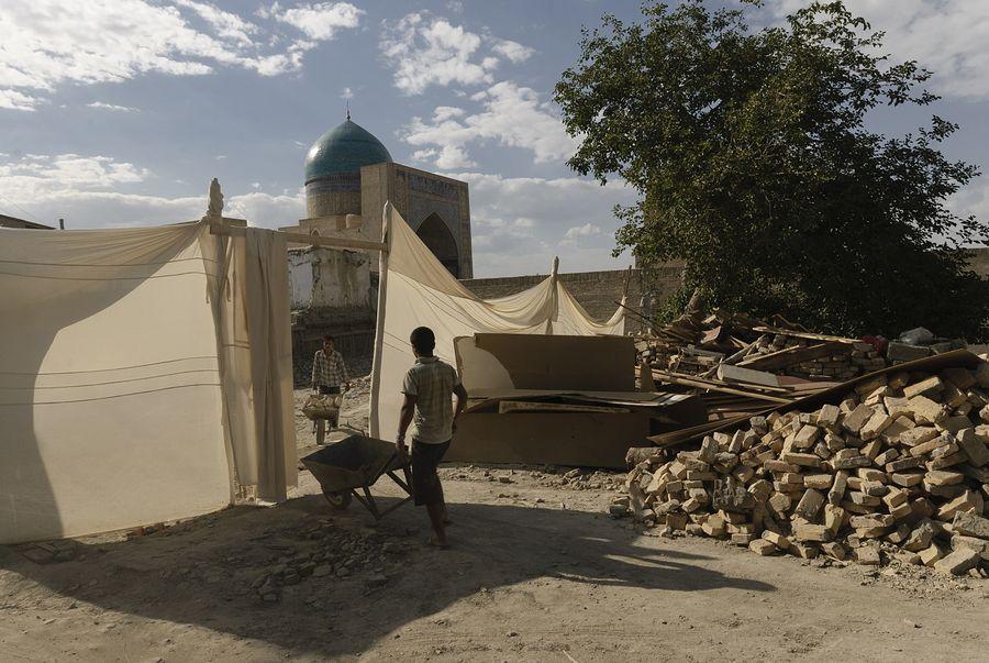 ©Анзор Бухарский. «Купол мечети Калян в Бухаре»