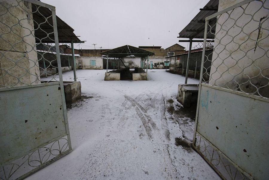 ©Анзор Бухарский. «Знаменитый «Зеленый базар» в старой части Бухары до реконструкции»