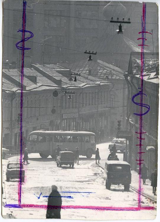 ©Дашевский Михаил Аронович. «Cолянка. 1960-е (контрольный отпечаток)»