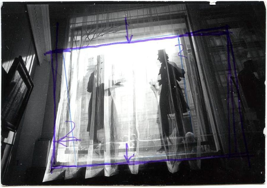 ©Дашевский Михаил Аронович. «Пушкин и народ. 1999 (контрольный отпечаток)»