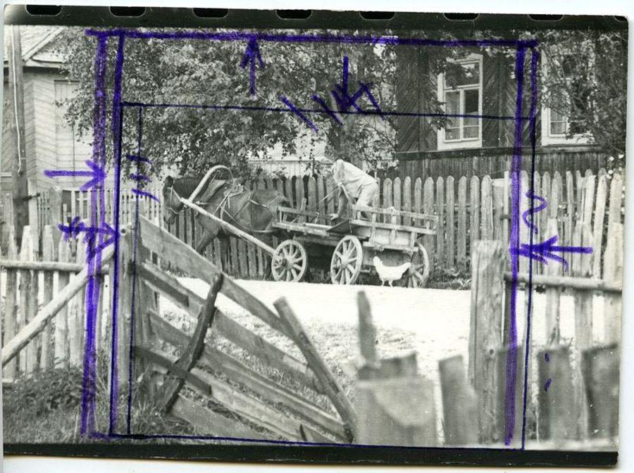 ©Дашевский Михаил Аронович. «Мне по делу срочно...1978 (контрольный отпечаток)»