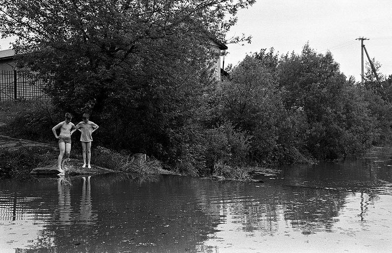 ©Дмитрий Черба. «У реки Тулица. Тула. 2020»
