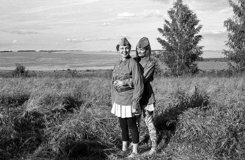 ©Дмитрий Черба. «Из серии «Один день в лагере Илья Муромец». Прощенный колодец. Тульская область. 2020»