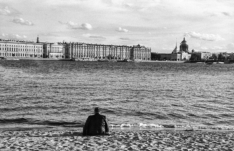 ©Дмитрий Черба. «Пляж. Санкт-Петербург. 2020»
