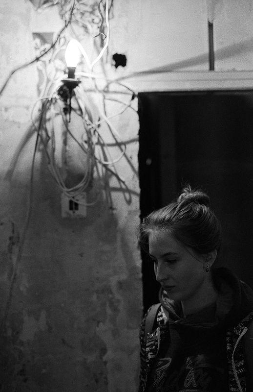 ©Дмитрий Черба. «Электрический свет. Узловая. Тульская область. 2020»