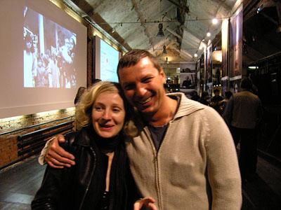 Анна Шпакова (Огонек) и Андрей Поликанов (Time)