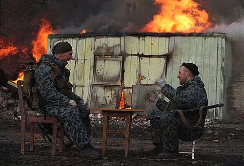 © Юрий Козырев. Грозный, Чечня, январь 2000