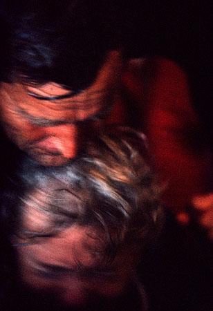 ©Николай Игнатьев. «Изгнание дьявола отцом Германом, Монастырь Св. Сергия Радонежского, Загорск, 1992»