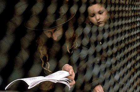 ©Николай Игнатьев. «Ортодоксальный еврей с ребенком, Еврейский Новый год. Уман, Украина»