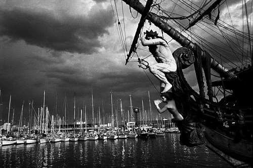©Александр Тягны-Рядно. «Барселона. 1991»