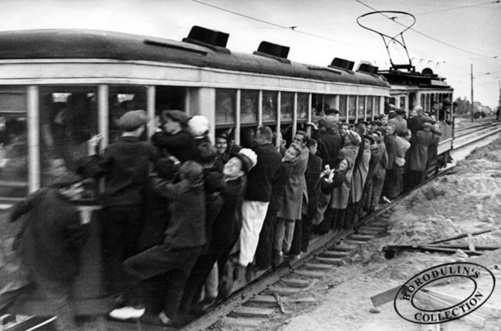 ©Иван Шагин. «День большого футбола. Москва, 1933»