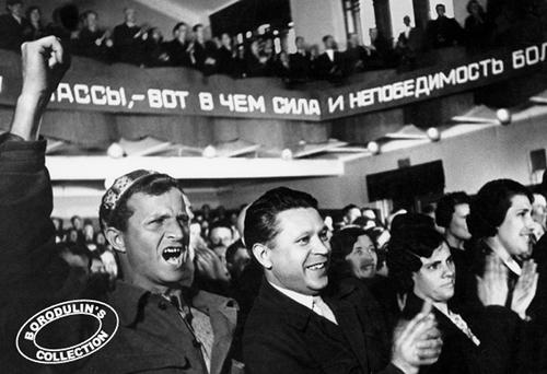 ©Иван Шагин. «Слава великому вождю. Москва, 1936»