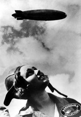 ©Иван Шагин. «В полете. 1936»