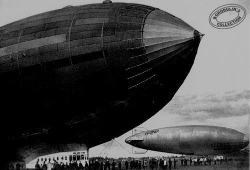 ©Иван Шагин. «Первые советские дирижабли. 1936»