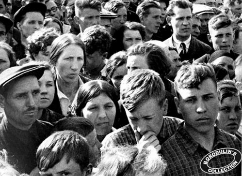 ©Иван Шагин. «Первый день войны. 22 июня 1941»