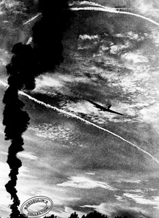 ©Иван Шагин. «Воздушный бой. 1943»