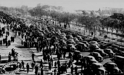 ©Иван Шагин. «Трафик образца 1956 года. Динамо, Москва»