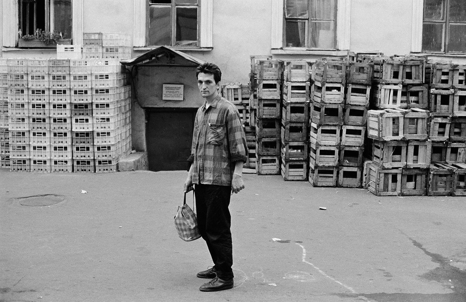 Андрей Безукладников. Совриск. Тимур Новиков. Ленинград. 1986