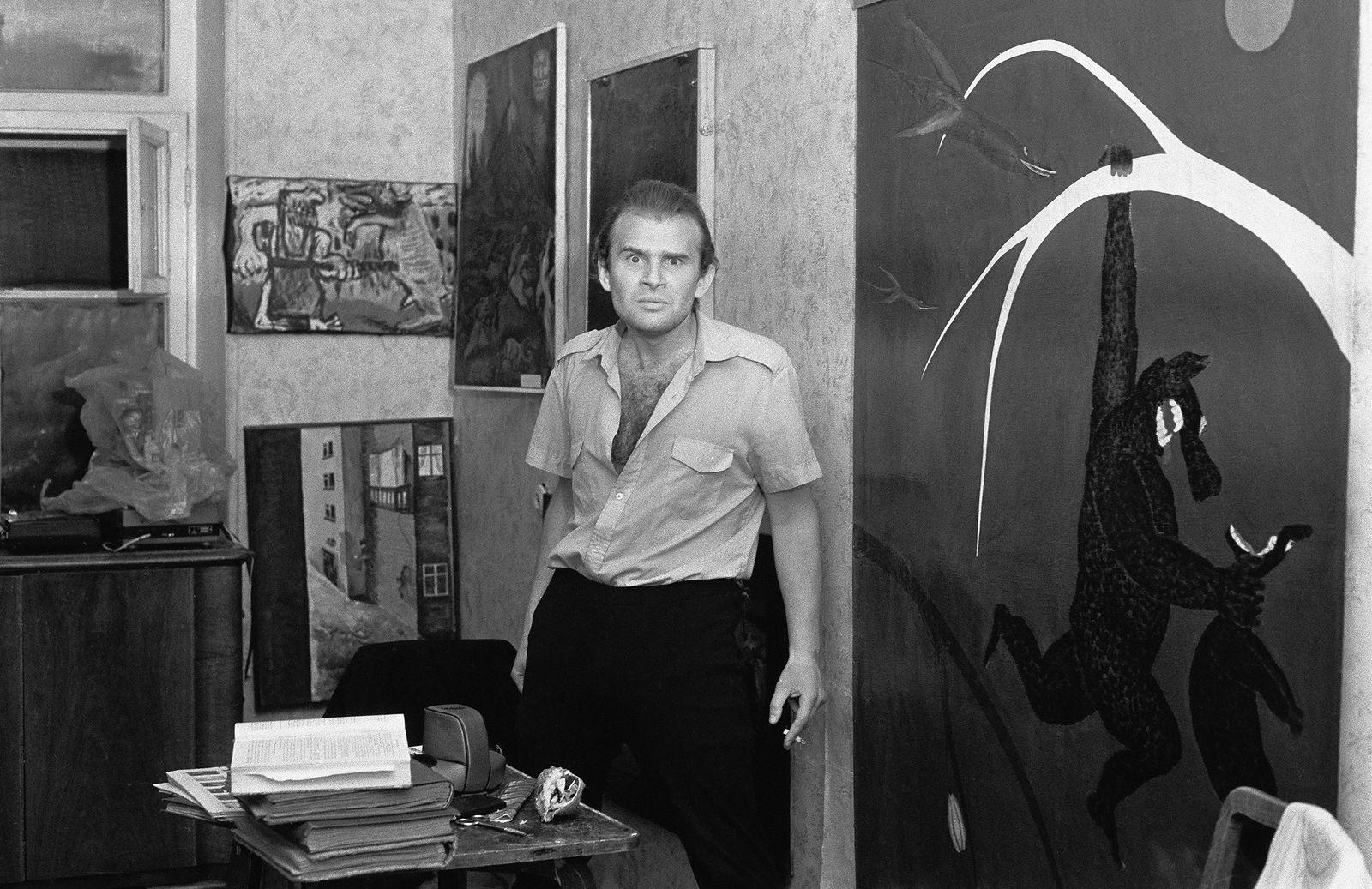 Андрей Безукладников. Совриск. Евгений Юфит. Ленинград. 1986