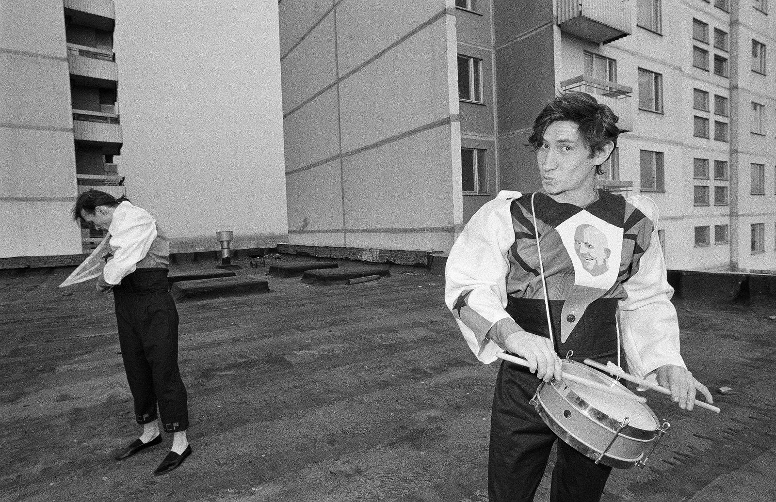 Андрей Безукладников. Совриск. Инал Савченков. Москва. 1987