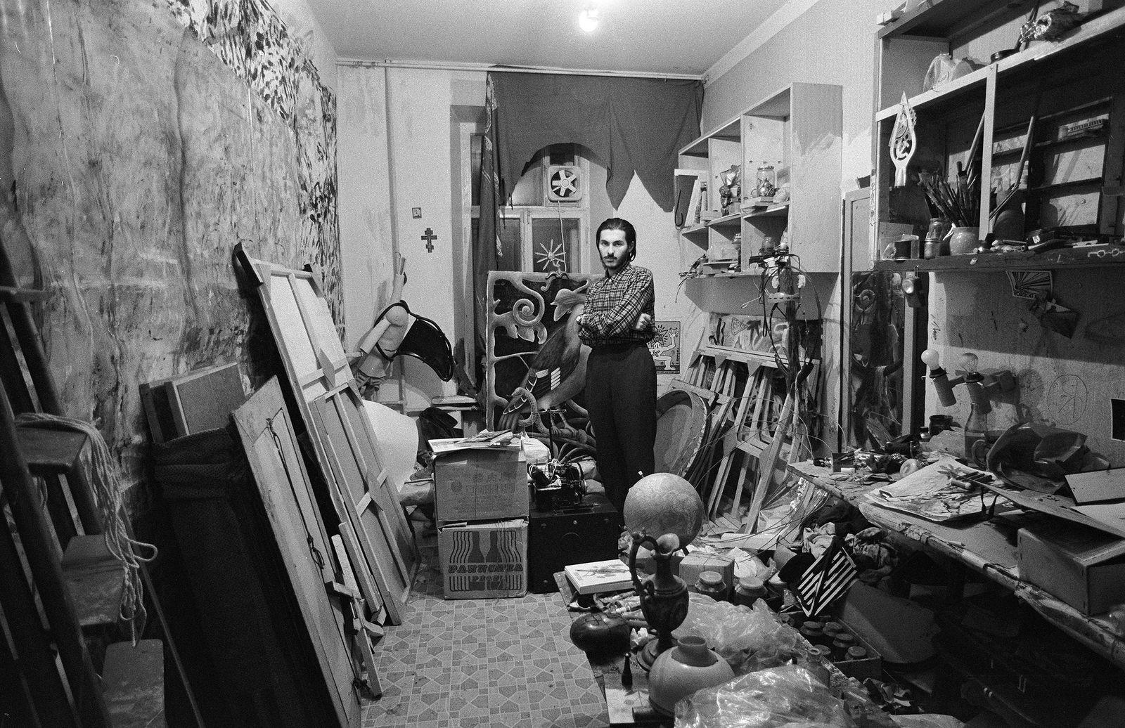 Андрей Безукладников. Совриск. Георгий Острецов. Москва. 1987