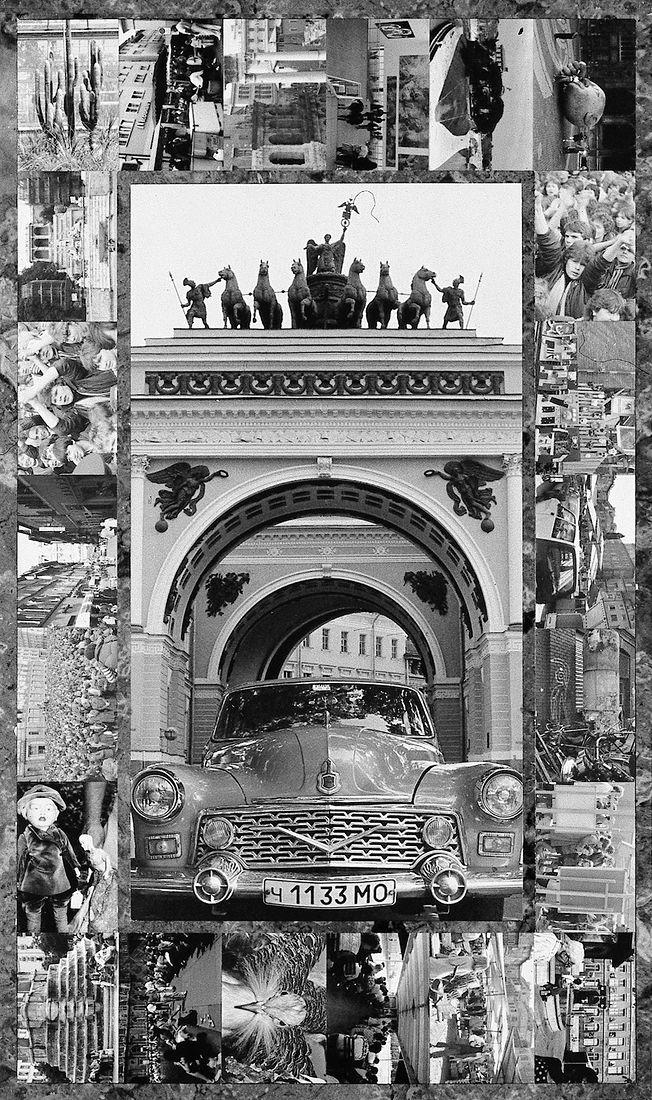 Андрей Безукладников. Карты Таро. Повозка (The Chariot)