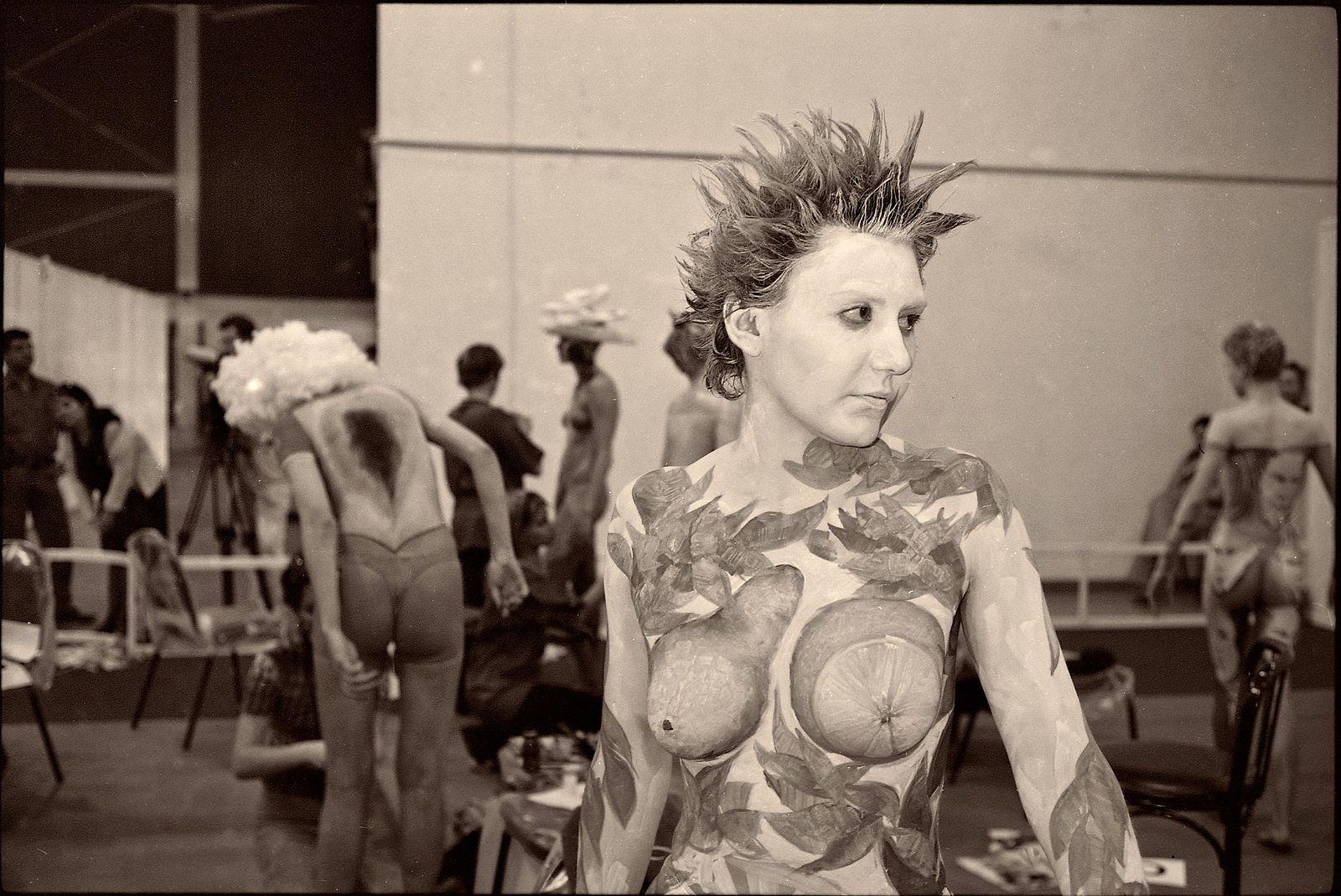 Николай Карташов. daily life. body Art