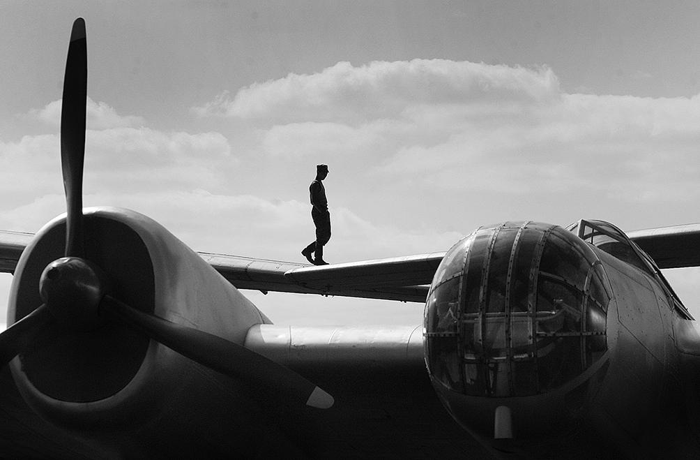 Артем Чернов. Артем Чернов. Музей авиации, Подмосковье, 2005