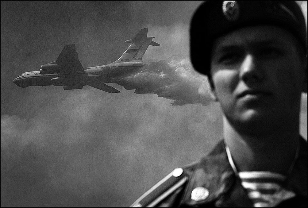 Артем Чернов. Артем Чернов. Учения МЧС, 2005