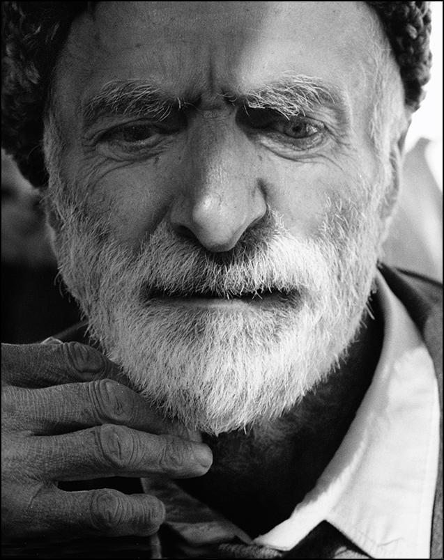 Артем Чернов. Артем Чернов. Портрет старика. Село Гуниб, Дагестан. 2001