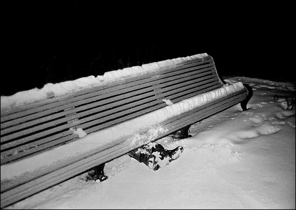 Артем Чернов. Артем Чернов. Парк МГУ, ночь, 1990