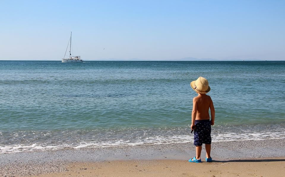 Konstantin Stepuro. Street. Мальчик и море.