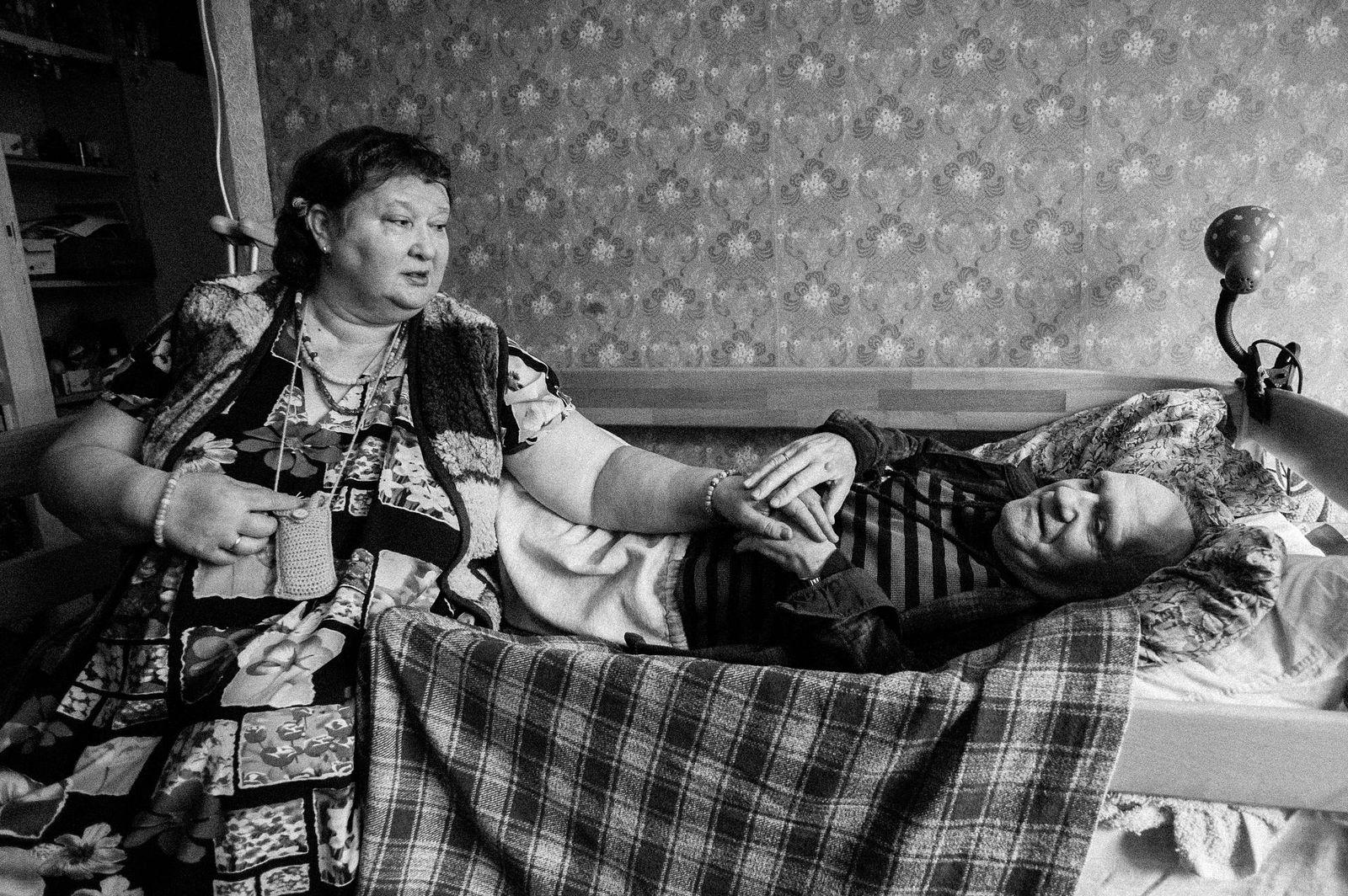 "Arik Shraga. ""Joint"" Families: The Stories of Love. Kramarenko couple"
