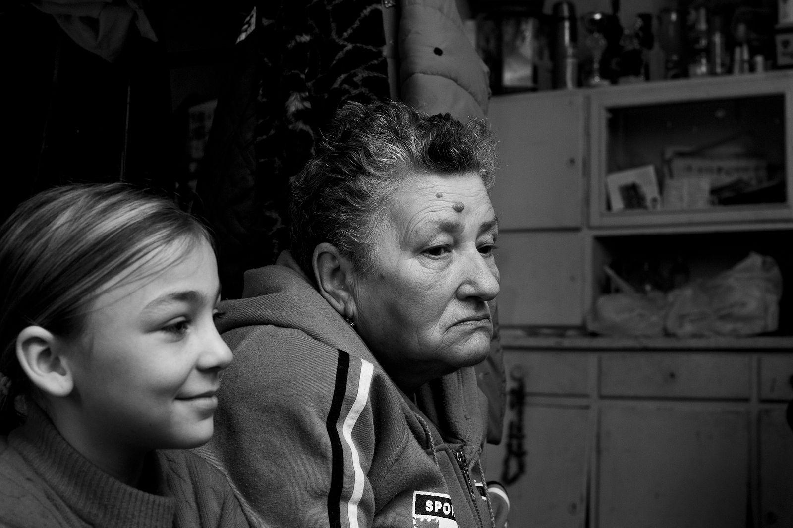 Arik Shraga. Ukraine. A family from Nikolaev