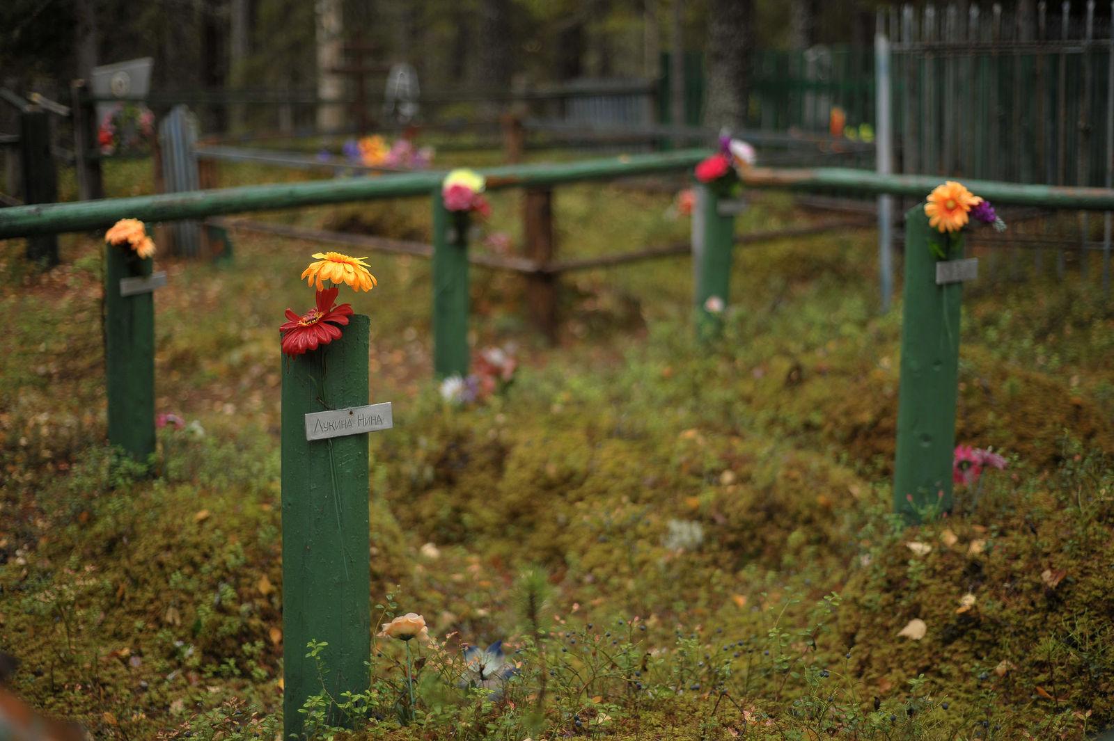 Arik Shraga. Neglected in the village. Turja abandoned village. Cemetery
