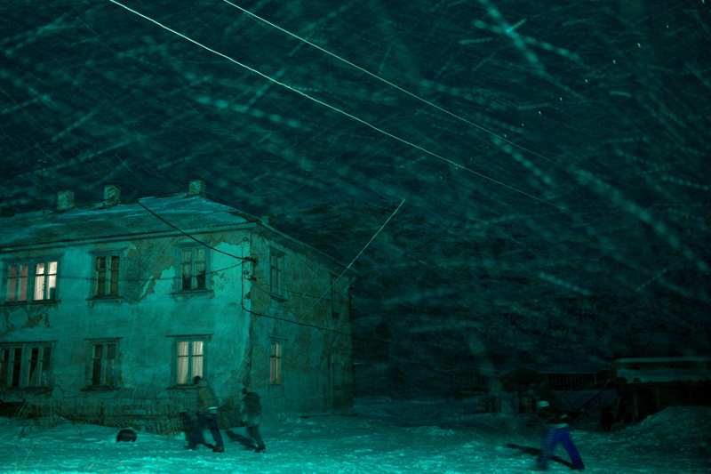sergey ermokhin. polar night. Murmansk region, Teriberka