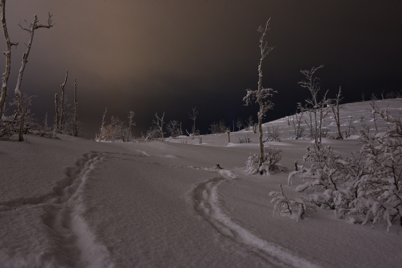sergey ermokhin. polar night. Murmansk region