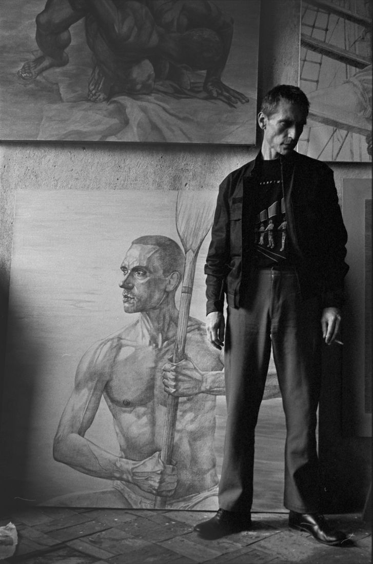 Сергей Борисов. portrait. гурьянов2004