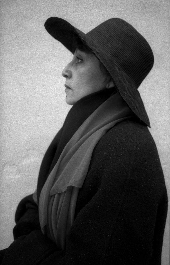 Сергей Борисов. portrait. дина рубина2002