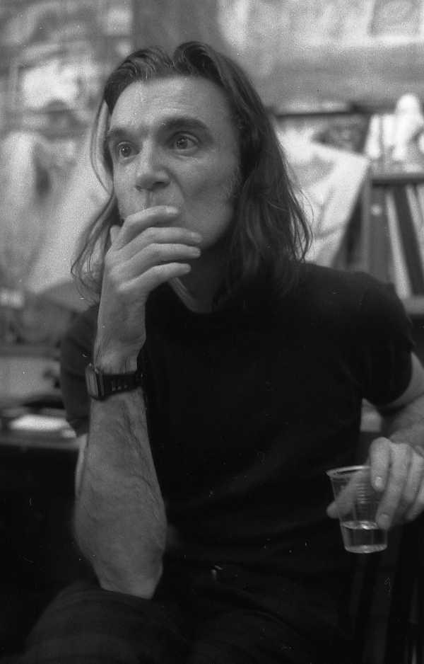 Сергей Борисов. portrait. дэвид бирн1994