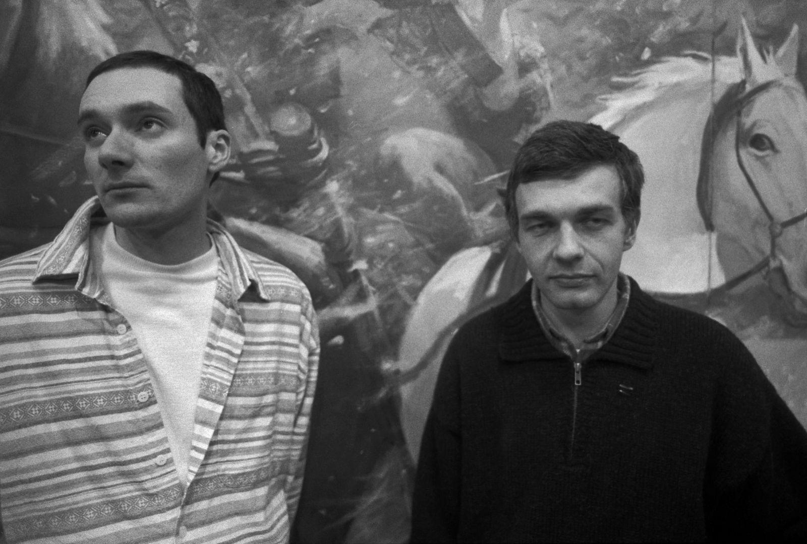 Сергей Борисов. portrait. дубоссарский и виноградов1995