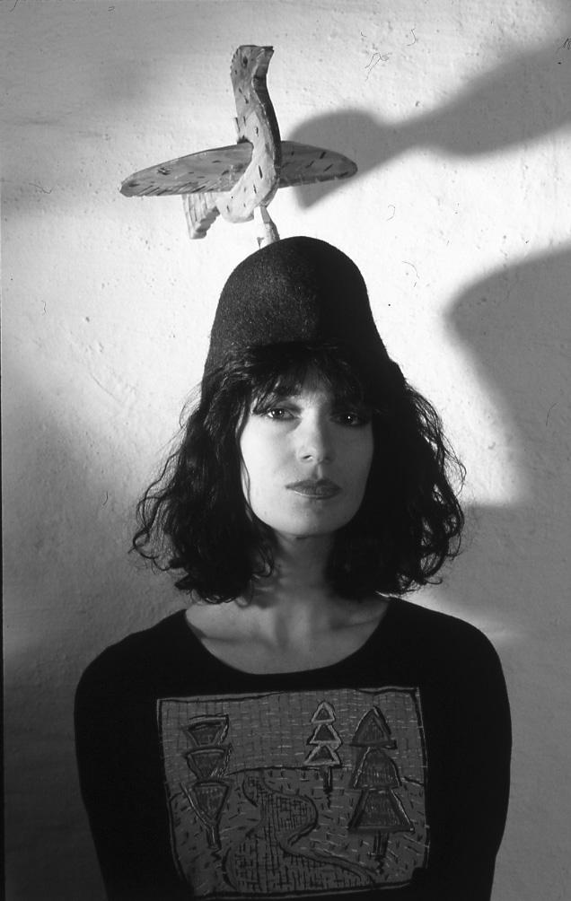 Сергей Борисов. portrait. katya filippova. 1992