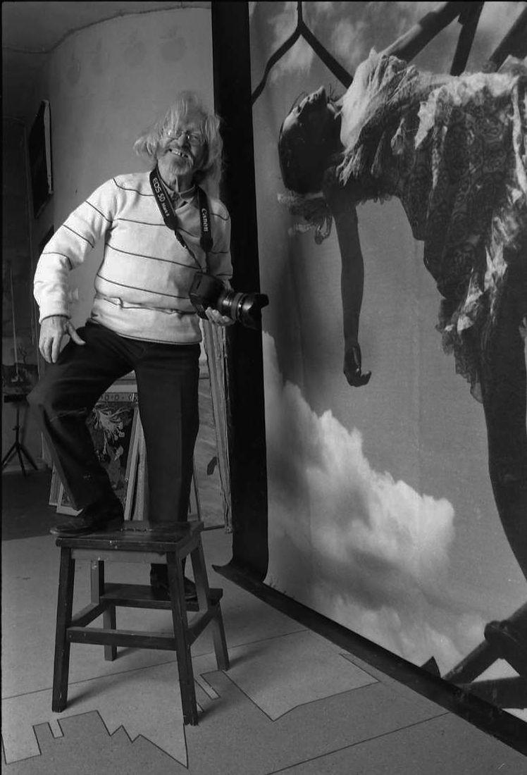 Сергей Борисов. portrait. бахарев в студии 50а 2013