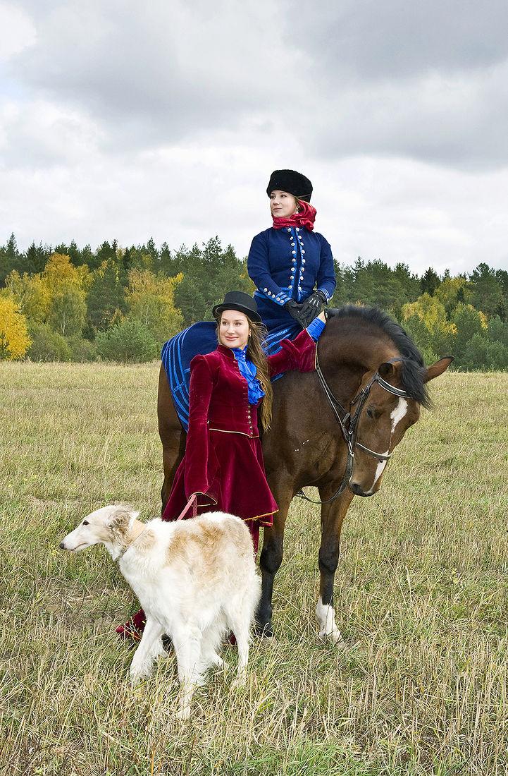 Игорь Нестеров. Конные охоты. Поля ждут